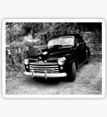 Abandoned Old Car Sticker