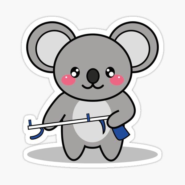 OTDUDE FUNctional Friends Koala Sticker
