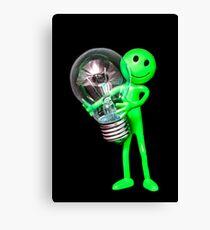 Alien Idea Canvas Print