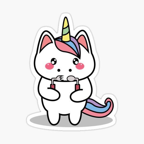 OTDUDE FUNctional Friends Unicorn Sticker
