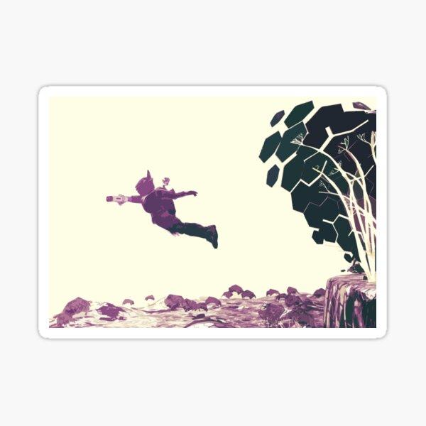 JUMP Sticker