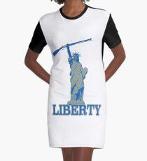 Liberty pro 2A Graphic T-Shirt Dress