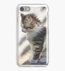 Young fluff iPhone Case/Skin