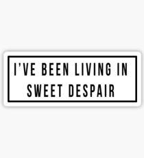 Sweet Despair Sticker