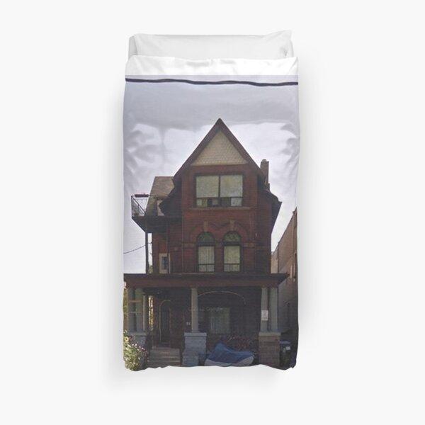 House Of Balloons Duvet Cover