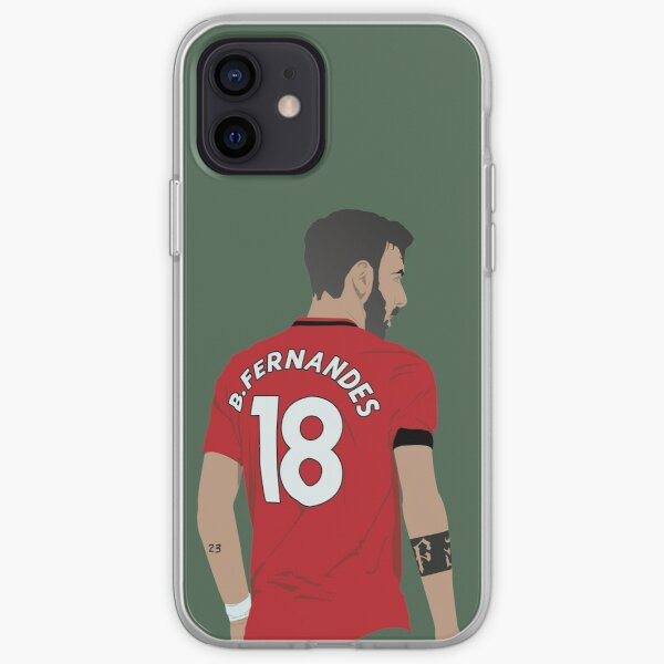 Bruno Fernandes MUFC Coque souple iPhone