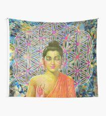Sacred Geometry Buddha Wall Tapestry
