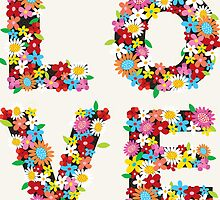 LOVE Spring Flowers by fatfatin