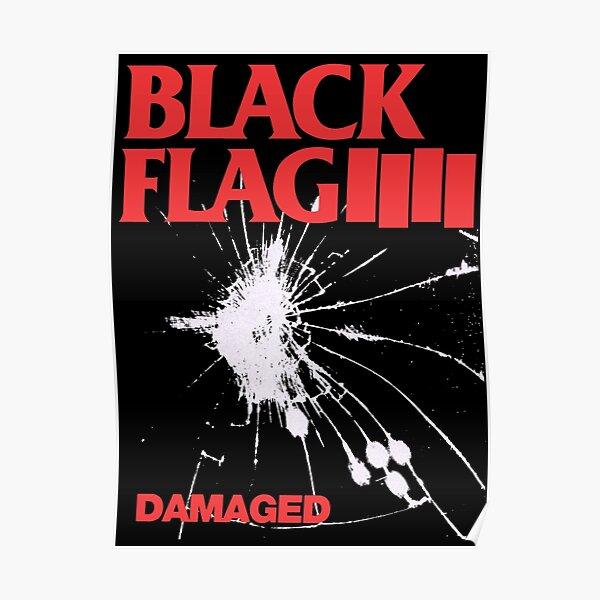 Black Flag - Damaged Poster