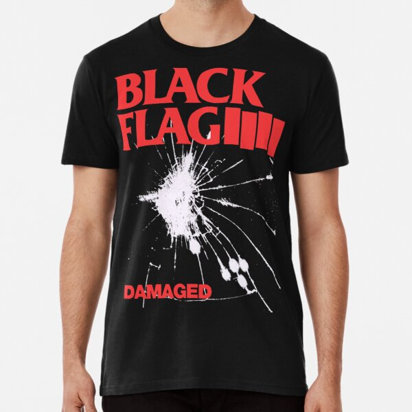 Black Flag - Damaged Premium T-Shirt