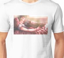 Dog and Wolf Unisex T-Shirt