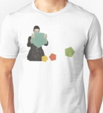 Discovering New Shapes Unisex T-Shirt
