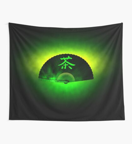 Green tea Wall Tapestry
