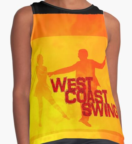 West Coast swing Contrast Tank