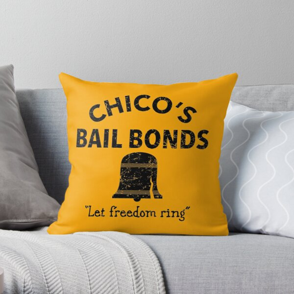 Chico's Bail Bonds Throw Pillow
