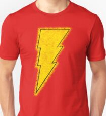 Superhero Spray Paint - Shazam Unisex T-Shirt