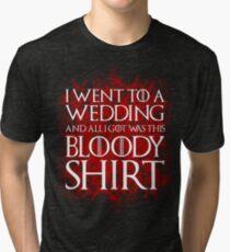 Red Wedding Tri-blend T-Shirt