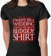 Red Wedding Women's Fitted T-Shirt