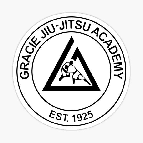 Gracie Jiu Jitsu Academy Sticker