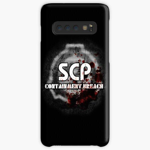 SCP Containment Breach Logo Samsung Galaxy Snap Case