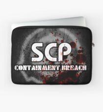 SCP Containment Breach Logo Laptop Sleeve