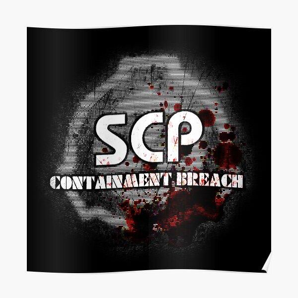 SCP Containment Breach Logo Poster