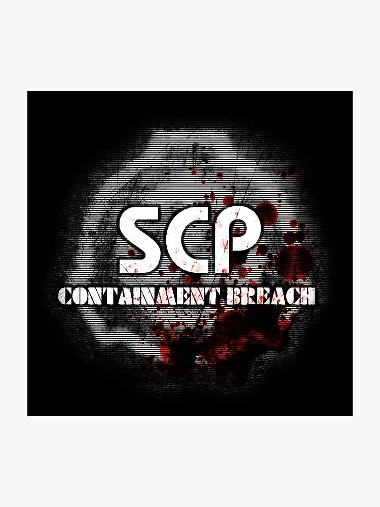 SCP Containment Breach Logo | Photographic Print
