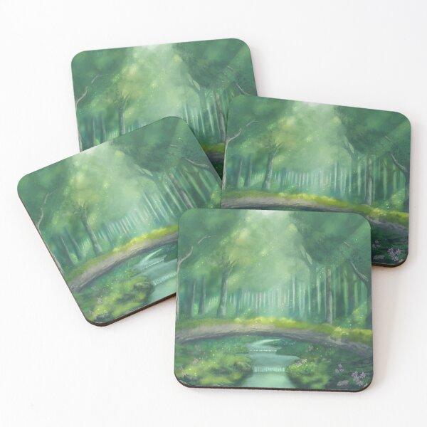 Lost Woods Coasters (Set of 4)