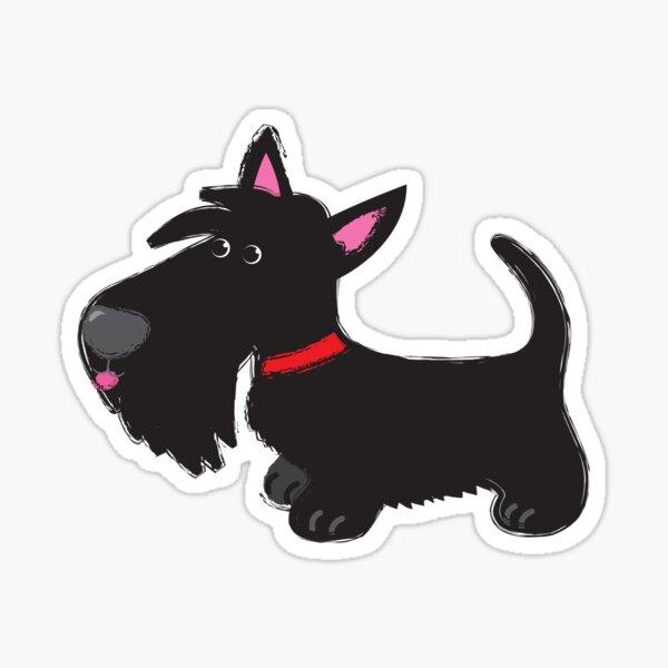 Scottie pup ©BonniePortraits.com Sticker