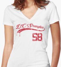 The D.C. Strangler Women's Fitted V-Neck T-Shirt