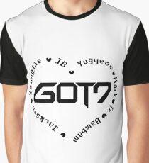 GOT7 Heart Graphic T-Shirt