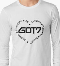 GOT7 Heart Long Sleeve T-Shirt