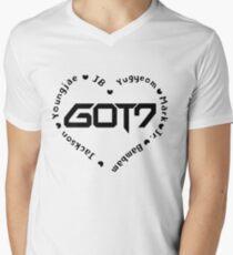 GOT7 Heart Men's V-Neck T-Shirt