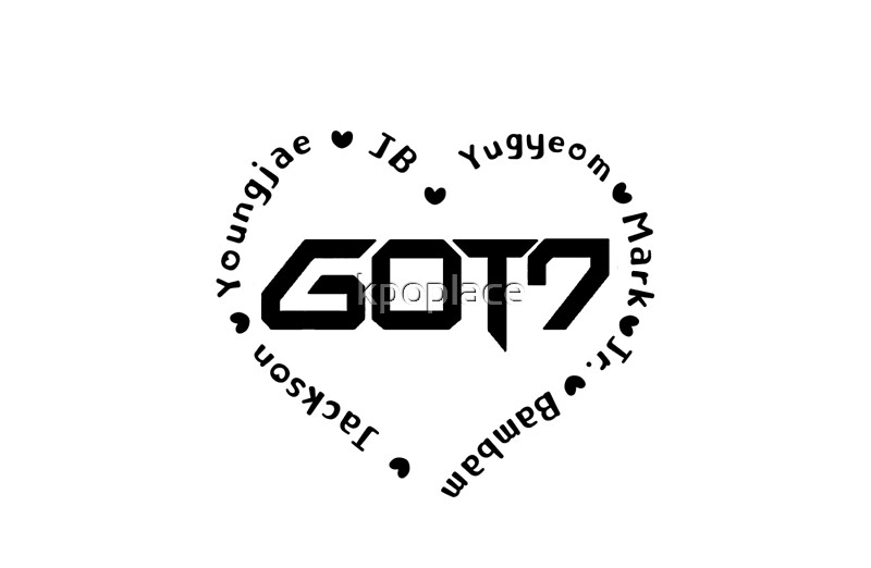 Quot Got7 Heart Quot Laptop Skins By Kpoplace Redbubble