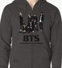 BTS Bangtan Boys Zipped Hoodie