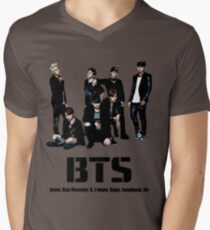 BTS Bangtan Boys Men's V-Neck T-Shirt