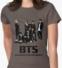 BTS Bangtan Boys Women's Fitted T-Shirt