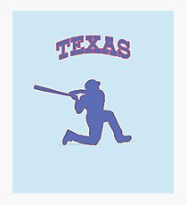 beltre swinging on a knee Photographic Print