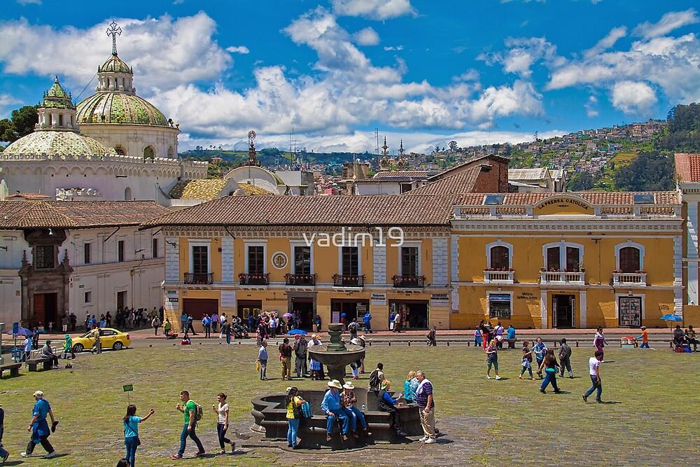 Ecuador. Quito. Plaza de San Francisco. by vadim19