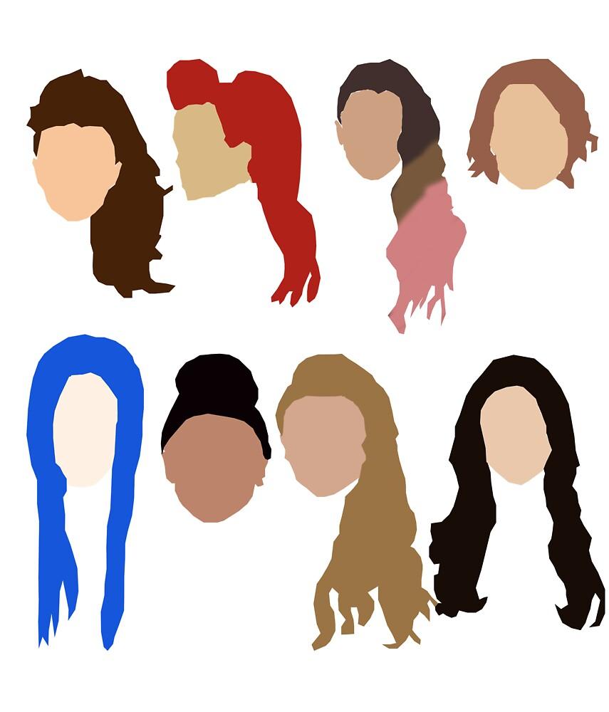 Hair by bratboutique