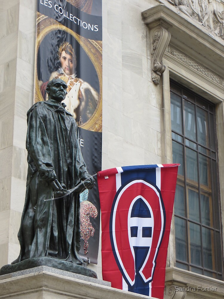 Go Habs Go...and They Went! by Sandra Fortier