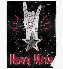 Heavy Metal Design T-shirt thunder slayer megadeth pantera Poster