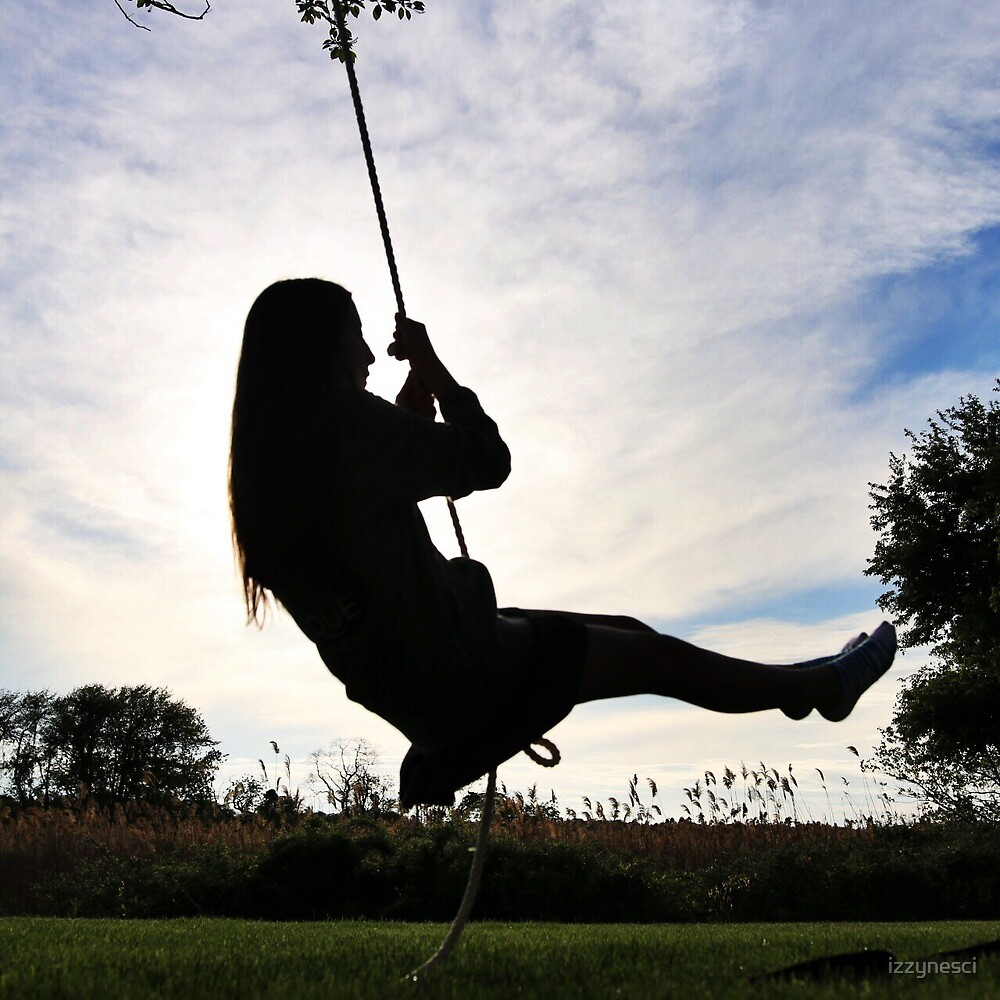 Swing Silhouette by izzynesci