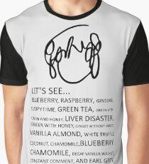 Ramona Flowers Tea Graphic T-Shirt