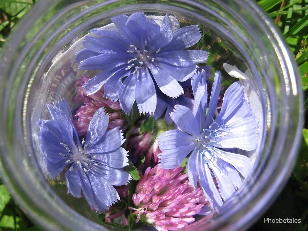 Flowers in a Jar by Phoebetales