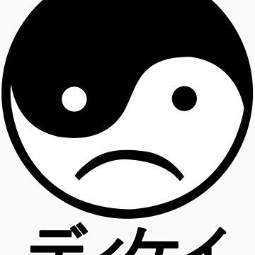 Yin Yang Face I by hunnydoll