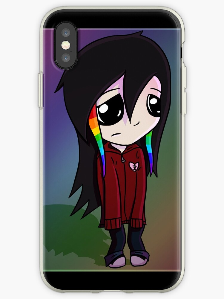 Andy the Emo Kid Phone Case by thecuddlyshark