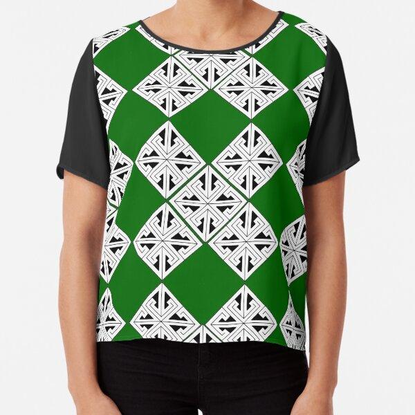 Celtic design Chiffon Top