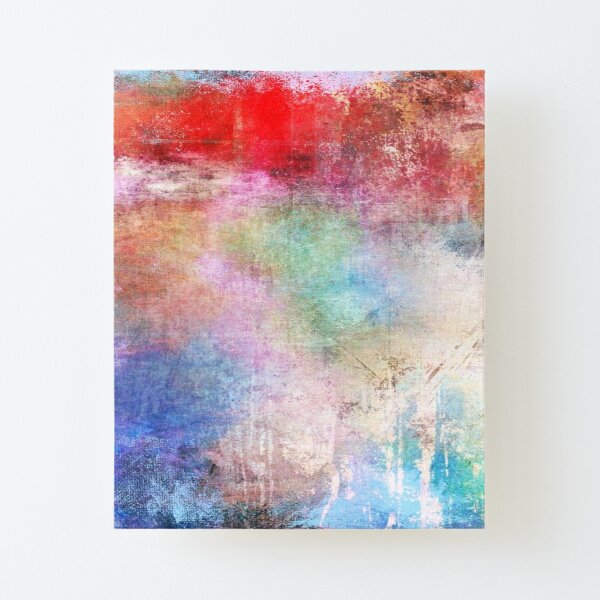 Abstract Painting  Canvas Mounted Print