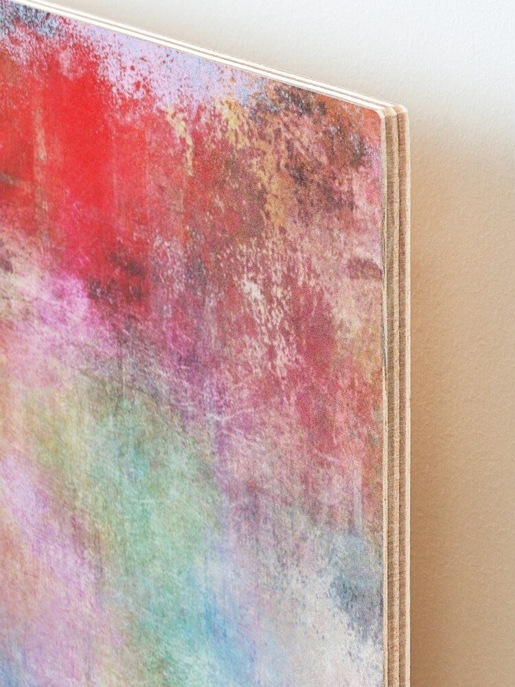 Alternate view of Abstract Painting  Mounted Print
